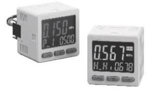 Прецизионный датчик давления/вакуума с трехэкранным дисплеем ZSE20(F)/ISE20 5fc67b20bacab
