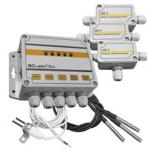 Измеритель температуры EClerk-Eco-3TL-GSM-0-2R-HP с функцией GSM регулятора