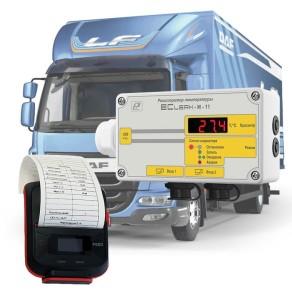 Комплект Eclerk Logist на базе регистратора Eclerk-M-2Pt-HP-a-1 (терморегистратор с термопринтером)