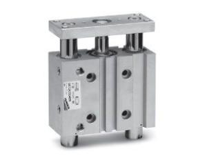 Цилиндры пневматические со встроенными направляющими Серий QCT и QCB 608309b7e3475