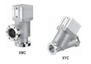 Угловые и прямые клапаны сильфонного типа с корпусом из нержавеющей стали XMC, XYC
