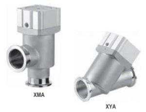 Угловые и прямые клапаны сильфонного типа с корпусом из нержавеющей стали XMA, XYA 5fc6487c5654d