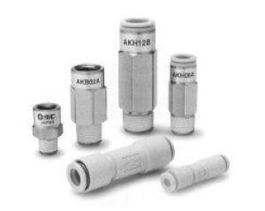 Обратный клапан с быстроразъемным соединением AKH/AKB