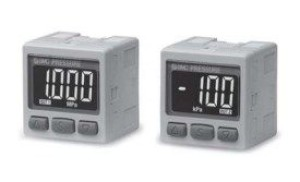 Прецизионный датчик давления/вакуума с двухцветной цифровой индикацией ZSE30A(F)/ISE30A 5fc67b20bafa0