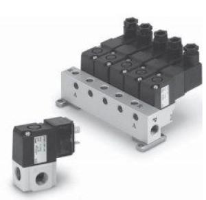 3/2 пневмораспределитель с прямым электромагнитным управлением VT307, VO307 60812573467fc