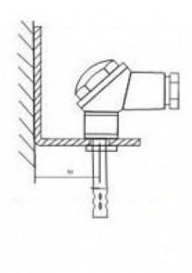 Кронштейн КД1–Kл для датчиков ДВТ-03.ТЭ и даталоггеров EClerk-USB-Kl 6080356543533