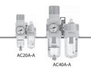 Фильтр /регулятор-маслораспылитель AC20A-A~AC40A-A 6080480dec762