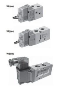 5/2, 5/3 пневмораспределитель с электропневматическим управлением VF1000/3000/5000 5fcccc30e740e