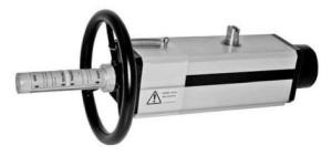 Пневматические приводы с интегрированным ручным дублёром. Серии DAV, SRV 608327e77706e