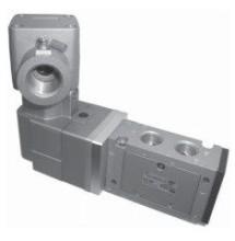 Низкотемпературный взрывозащищенный 5/2 пневмораспределитель 50-VFE3120-X81