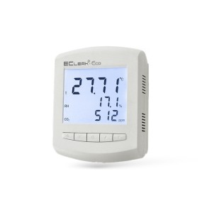 Измеритель температуры, влажности и концентрации CO2 EClerk-Eco-RHTC 6086860e43ad8