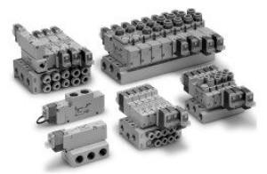 5/2, 5/3 пневмораспределитель с электропневматическим управлением VQZ1000/2000/3000 5fcccc30e56f0