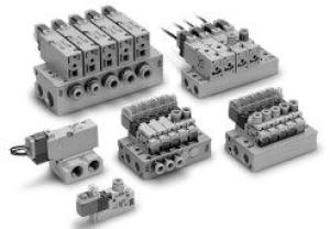 3/2 пневмораспределитель с электропневматическим управлением VQZ100/200/300 60812573462c6