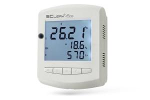 Началось производство измерителя температуры, отн. влажности воздуха и уровня освещенности EClerk-Eco-RHTQ