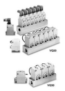 2/2 Пневмораспределитель с электропневматическим управлением VQ20/30 6081257345c86