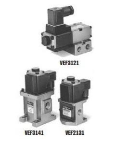 2, 3-линейный пропорциональный пневмораспределитель с электроуправлением VEF