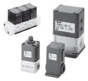 2/2 клапан с пневматическим и ручным управлением для химически активных и особо чистых сред с резьбовым присоединением LVA 5f93f064d6929