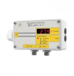 Измеритель-регистратор температуры EClerk-M-2Pt в герметичном корпусе 6084ca8856574