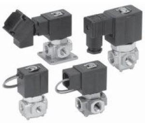 3/2 клапан с прямым управлением для различных сред VX31/32/33