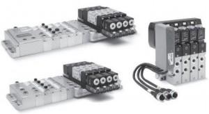 Пневматические острова Серия 3 Plug-In Многоштырьковая версия и подключение по полевой шине Fieldbus 60874dee87ff3