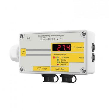 Регистратор температуры EClerk-M-11-2Pt-HP-a-1 для рефрижераторов 5f15b93871620