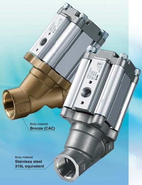 2/2 клапан для работы с высокотемпературными жидкостями и паром VXB 5fc860debf9b0