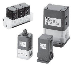 2/2 клапан с пневматическим и ручным управлением для химически активных и особо чистых сред с резьбовым присоединением LVA 5fd43e5047307