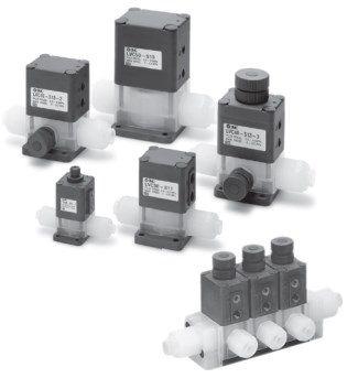 2/2 клапан с пневматическим управлением для химически активных и особо чистых сред встраиваемого типа  LVС 5f543e09467f2