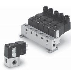 3/2 пневмораспределитель с прямым электромагнитным управлением VT307, VO307 5fd59d28bcb6a