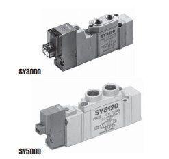 5/2, 5/3 пневмораспределитель с электропневматическим управлением SY3000/5000/7000/9000 5fc6f02cabedf