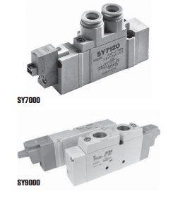 5/2, 5/3 пневмораспределитель с электропневматическим управлением SY3000/5000/7000/9000 5fc6f02cac7ce