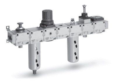 Блоки подготовки воздуха Серия MC Модульная сборка 5fc53b3d1f236