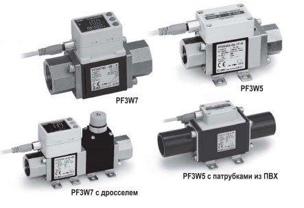Датчик расхода жидкости PF3W5/PF3W7 5fc9387a65ad8