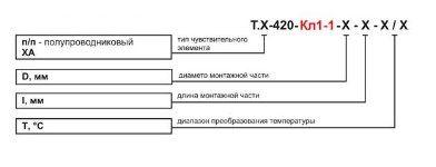 Датчики температуры жидкости и сыпучих сред Т.п/п-420-Кл1-1, Т.ХА-420-Кл1-1 5f5441958438d