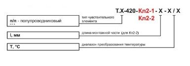 Датчики температуры Т.п/п-420-Кл2-1, Т.п/п-420-Кл2-2 5fd6c7ac6cc5a
