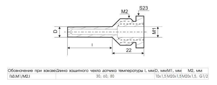 Гильза защитная Гз3 5fcc5000b7032