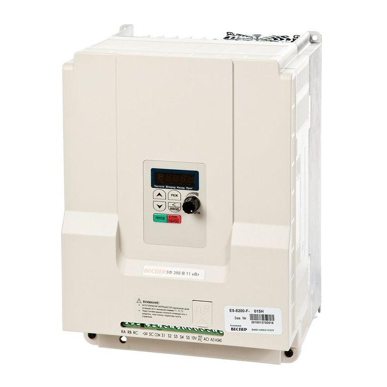Векторные преобразователи частоты малой мощности E5-8200 5fc5484bcaf53