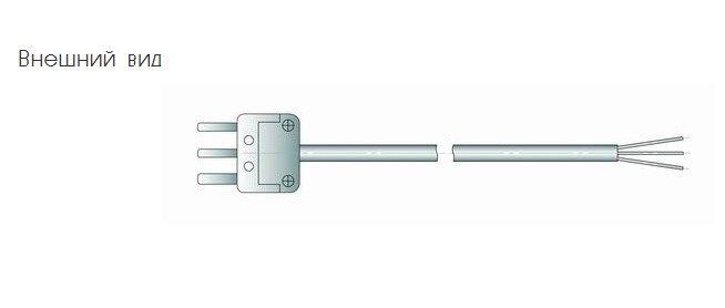 Кабель соединительный С1-1 для измерителя температуры IT-8 5f54424e85aec