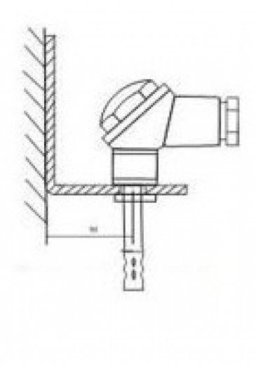 Кронштейн КД1–Kл для датчиков ДВТ-03.ТЭ и даталоггеров EClerk-USB-Kl 5fc7e0a1b59c8
