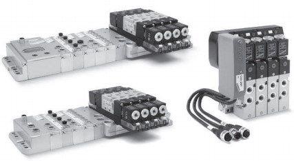 Пневматические острова Серия 3 Plug-In Многоштырьковая версия и подключение по полевой шине Fieldbus 5fc5afb3d540f