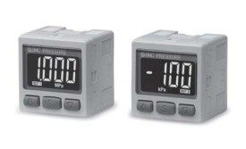 Прецизионный датчик давления/вакуума с двухцветной цифровой индикацией ZSE30A(F)/ISE30A 5fc6a86531470