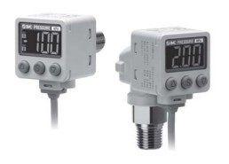 Прецизионный датчик давления/вакуума с двухцветной цифровой индикацией ZSE40A(F)/ISE40A 608aef27dc0e6