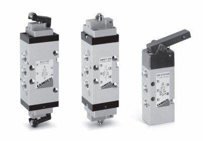 Сенсорные распределители с механическим управлением Серия 3 и 4 5fd5c0b9c11a0