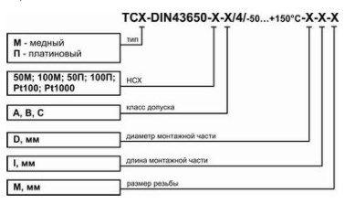 Термопреобразователь сопротивления DIN43650 5fc91b759c0f6
