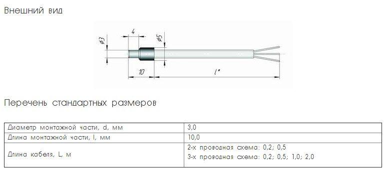 Термопреобразователь сопротивления TCМ (ТСП)-К0 5fcbf5db2f461