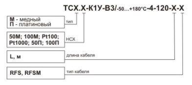 Термопреобразователь сопротивления ТСХr.Х-К1У 5f5444cab277a