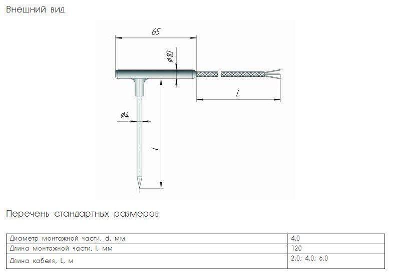 Термопреобразователь сопротивления ТСХr.Х-К1У 5f5444cab2b98