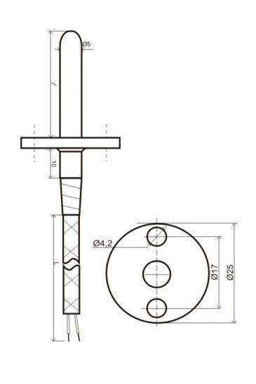 Термопреобразователь сопротивления ТСМ (ТСП)-К2Ф 5fcd334ec7e08