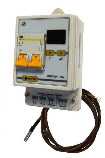 Терморегулятор Ратар-02А-1 для необслуживаемых помещений 5fc58c4da50d1