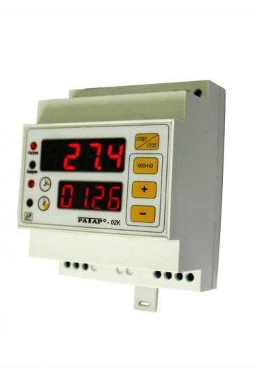 Терморегулятор Ратар-02К со встроенным таймером для саун и фитобочек 5f54422eefbe1